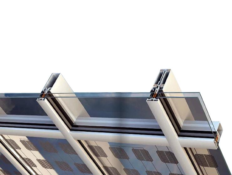 Line Fasadë GjysmëStrukturor